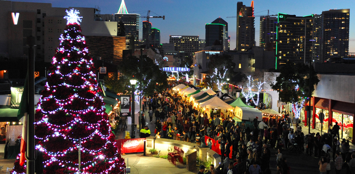 Little Italy S Christmas Tree Lighting Ceremony Vb Realty Group